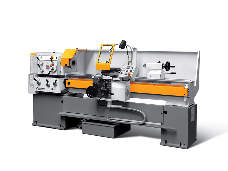 Lathe with variable speed control C400TS