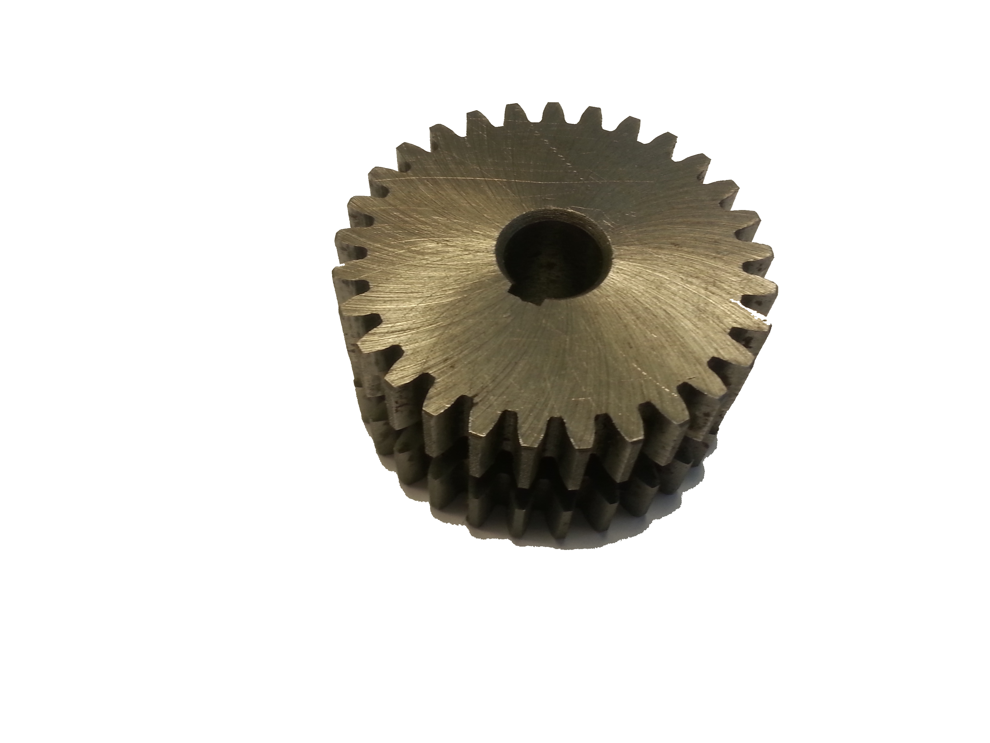 Gear Wheels and shafts toothed