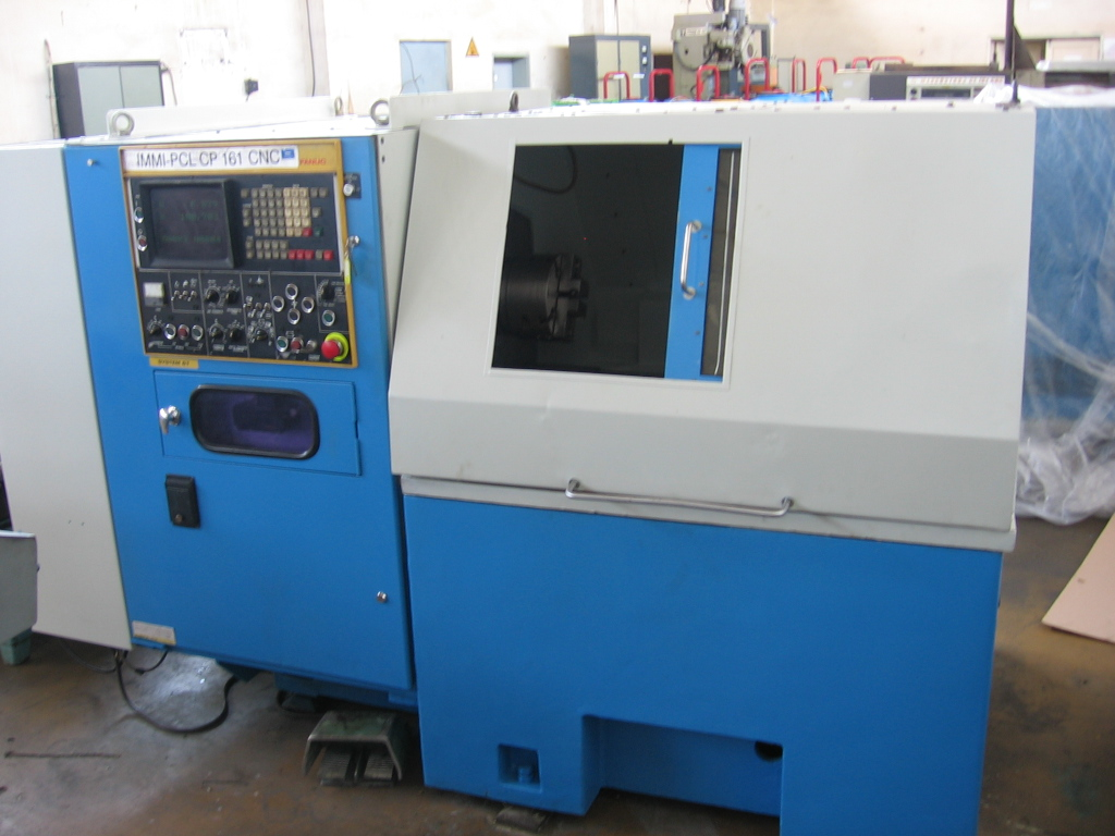 Lathe SP 161 - Fanuc 6 (after repair)