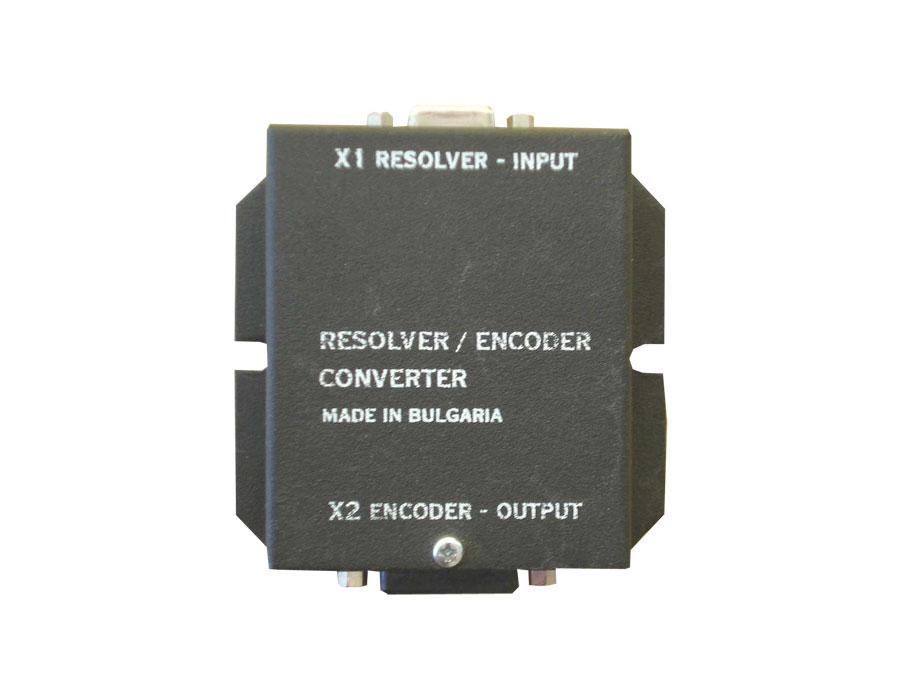Resolver-encoder converter
